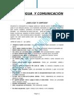 Lengua y Comunicación Semi