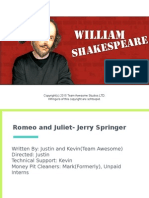 copy of romeo and juliet - jerry springer edition,