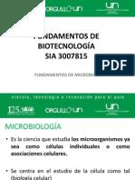 9. Fundamentos de Microbiología I