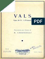 Chopin Casuscelli Vals