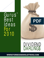 FORBES Gurus Best Ideas for 2010