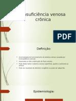 Insuficiencia Venosa Cronica