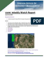 Weekly Watch June 8-14