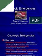 Oncology Emergencies-kegawatdaruratan onkologi
