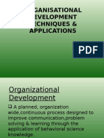 organisationaldevelopmenttechniquesandmodels.ppt