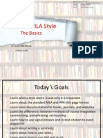 MLA and APA Style_The Basics
