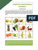 catalogo de Alimentos Deshidratados Naturales Deshidratados