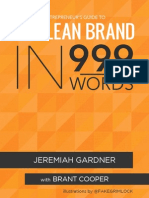 Or the Lean Brand in 999 Words