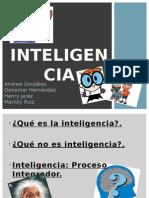 Presentación Inteligencia