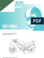 manual do propietrio cbr 1100xx 96-99