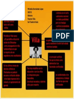 mapa conceptual de Francisco Villa