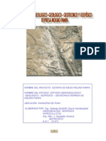 Estudio Geofisico Molino Pampa
