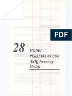 28 Model Persediaan Eoq