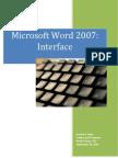 Word 2007 Interface