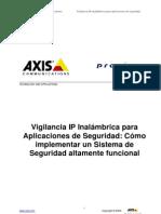 Axis Vigil an CIA Ip Inalambrica