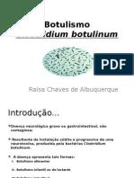 Botulismo apresentação aula