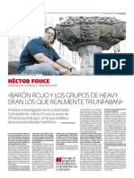 Héctor Fouce - Entrevista / José Carlos Pedrouzo