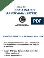 Metode Analisis Rl