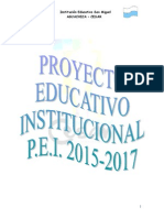 PEI 2014-2017, Institución Educativa San Miguel (Cibermuseo)