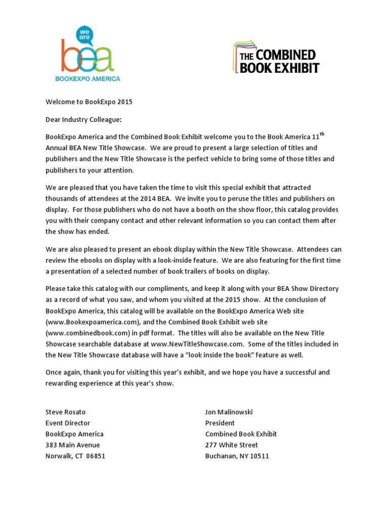 Bookexpo New Title Showcase 2015  cbb4caa1586