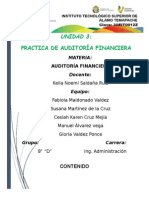Unidad 3 Practica de Auditoría Financiera