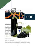 Historia de vinos