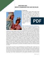 Historia Del Acontecimiento Mariano de San Nicolás (Síntesis)