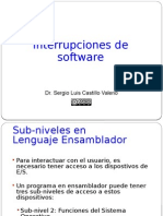 Interrupciones de Software (BIOS y DOS)