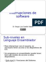 Interrupciones de Software (BIOS y DOS)