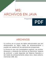 Archivos Java 2013