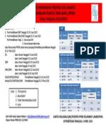 Jadwal PPDB 2015