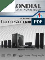 Home Theater - HT 04 Manual de Instruções
