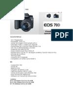 Canon Reflex EOS 70D