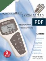 Datasheet Cyberscan 110