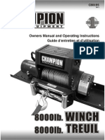 C80195 Winch Manual