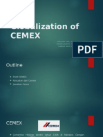 The Globalization of CEMEX