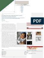 Controversia sobre o bebe medicamento
