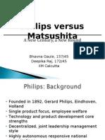 Philips vs. Matsushita