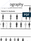 Kozinets (2010) Netnography - Doing Ethnographic Research Online (1)