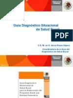 Present. Guía Diagnóstico Salud Bucal Para C.D