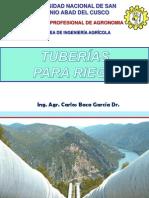 07.- TUBERÍAS PARA RIEGO - Principios de Irrigacion 2015