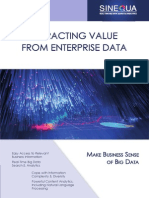 Extracting Value From Enterprise Data