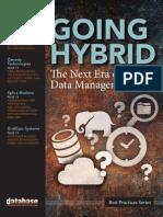 DBTA Best Practices Going Hybrid Data Management