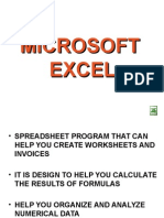 Comed2 Ms Excel Topics 2007