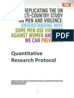 Quantitative Research Protocol Final 0