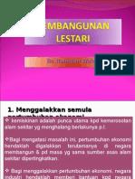 Prinsip Pembangunan Lestari
