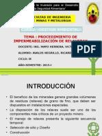 Procedimiento de Impermeabilizacion de Relaveras_GESTION_AMBIENTAL