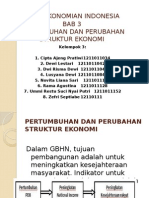 BAB 3 Perekonomian Indonesia Kelompok