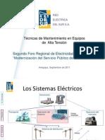 3.Tecnias de Mantenimiento en equipos de Alta tension REDESUR.pdf