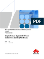 Single-Server System Software Installation Guide (Windows)-(V100R002C01_05)
